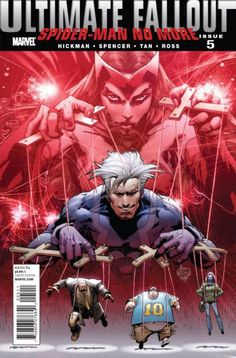 The cover to Ultimate Fallout #5 (2011), art by Adam Kubert & Justin Ponsor