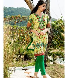Tanzaib Kurti Shalwar Collection 2016 by Shaista Textiles D_117