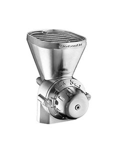 Shop KitchenAid Grain Mill Attachment For Stand Mixers (KGM) at Your Navy Exchange. You Serve, You Save on the best brands and products in Attachments. Kitchen Aid Mixer Attachments, Kitchen Mixer, Kitchen Machine, Kitchen Tools, Kitchen Gadgets, Best Kitchenaid Mixer, Appliance Reviews, Real Kitchen, Kitchen Dining