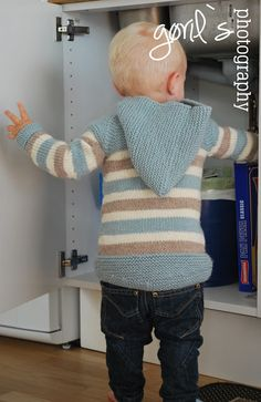 Min Oslo Anorakk | Woolspire Oslo, Little People, Kids Outfits, Barn, Pullover, Knitting, Sweaters, Clothes, Fashion