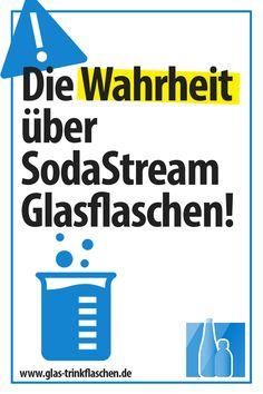 Was Dir kein Verkäufer über die SodaStream Glasflaschen erzählt #zerowast Smoothie, Zero, How To Make, Sustainable Energy, Sustainability, Sustainable Gifts, Smoothies