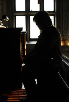 Caleb Johnson of @Janet Russell-Snider Idol playing the 1915 Skinner Pipe Organ in #Biltmore House in #Asheville, #NC during his return visit on May 10, 2014.