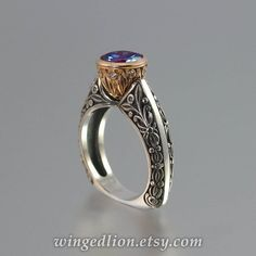 UNDER A SPELL sterling silver Wedding Band with White Sapphires half-eternity band Silver Wedding Bands, Wedding Rings, 14k Gold Ring, Silver Rings, Bling Bling, Alexandrite Ring, Jewelry Insurance, Small Rings, Schmuck Design