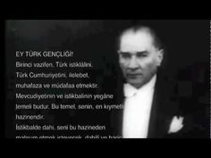 ▶ Gençliğe Hitabe - Mustafa Kemal ATATÜRK - YouTube