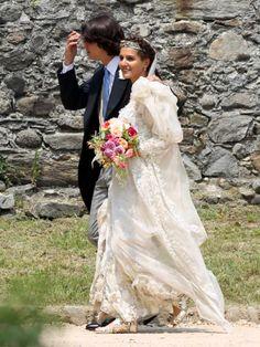 Mariage bohème pour Margherita Missoni