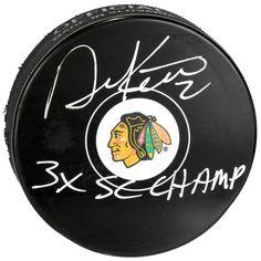 Duncan Keith Chicago Blackhawks Fanatics Authentic Autographed Hockey Puck with 3c SC Champs Inscription - $151.99