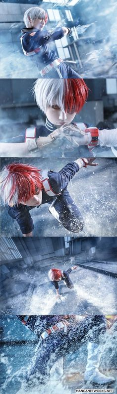 Cosplay Shoto Todoroki - My Hero Academia