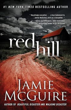 "New from the author of Beautiful Disaster and Walking Disaster.  ""This hauntingly evocative tale had me on the edge of my seat as I gasped, cried, and cheered. Set against a barren, post-apocalyptic landscape, Red Hill is a true testament to Jamie McGuire's skill as a storyteller. You'll love every heart-pounding minute of it."" – Tracey Garvis Graves, New York Times bestselling author of On the Island and Covet  Red Hill releases in October 2013."