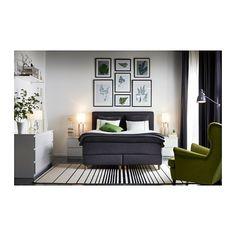 MALM Byrå med 2 lådor - vit - IKEA