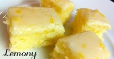 Now You Can Pin It!: Lemony Lemon Brownies