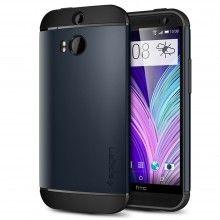 Carcasa HTC One M8 Spigen SGP Armor Series Slim Metal Slate  $ 58.100,00
