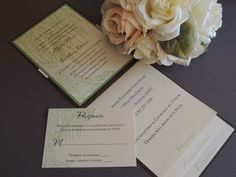 Willow Tree Wedding Invitation