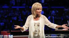 Beth Moore was praying when God sent her an image in her mind of a bus stop. He told her to go there with money and wait. So she did. And you will get chills hearing what God did with her obedience! Wow God is SO good!