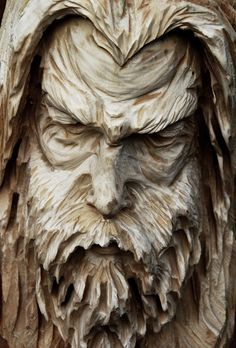 An excellent woodworking plan is kind of like having an excellent plan prior to. Wood Carving Faces, Dremel Wood Carving, Tree Carving, Wood Carving Patterns, Wood Carving Art, Wood Carvings, Art Sculpture, Sculptures, Tree Faces