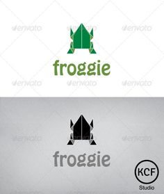 Froggie Logo Design  #GraphicRiver         This´s nice customizable logo, simple and elegant, suitable for several industries. It´s easy to change the colors and the text. The file contain one original version and one black version. ´ Font used is Hobo Std Medium – fonts.zaraf.ro/font2281/hobostd.otf.htm   Please feel free to contact me if you have any question.     Created: 22October12 GraphicsFilesIncluded: PhotoshopPSD #VectorEPS #AIIllustrator Layered: Yes MinimumAdobeCSVersion: CS…