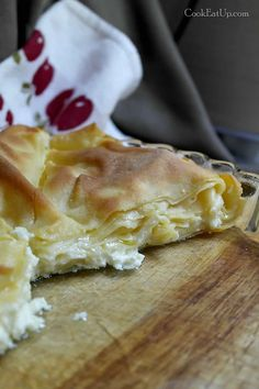 Ονειρεμένη τυρόπιτα με φύλλα βραστά ⋆ Cook Eat Up! Greek Recipes, Apple Pie, Sweet Home, Food And Drink, Cooking, Desserts, Kitchens, Chef Recipes, Kitchen