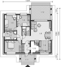 Better Homes, House Plans, Floor Plans, Flooring, How To Plan, Architecture, Blueprints For Homes, Home Plans, Wood Flooring