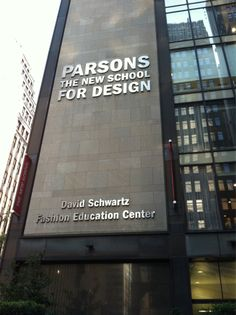 Parsons The New School for Design - Designers workplace and former Chair of the school's Fashion Design department, Tim Gunn.