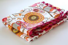 """Used this tutorial to apply the ric rac and appliqué on the """"duck"""" quilt.  Great tutorial"""