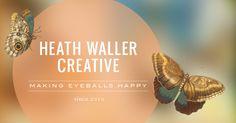 Web Design & Illustration Services / Heath Waller Creative