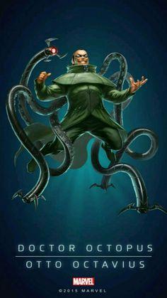 Otto Octavius is Dr Octopus