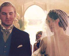 Downton Abbey Wedding