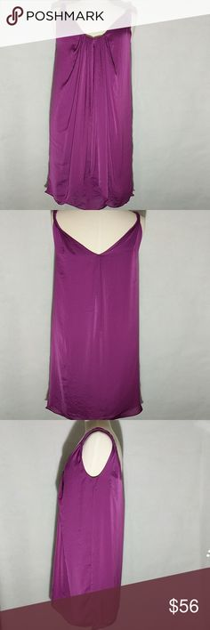 "DVF Dress Lined plum/purple dress, 19"" across chest,  front length is 33"", and back length is 34"" Diane Von Furstenberg Dresses Mini"
