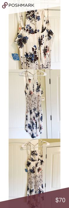 "Free People ""Intimately""  dress BNWT size small Brand new with tags Free People dress! Intimately collection, but with a slip under it could easily be worn as a dress to go out in! Absolutely stunning piece and perfect for summer!! 🌻 Free People Dresses"