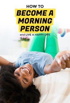 How I Became a Morning Person   Extra Crispy