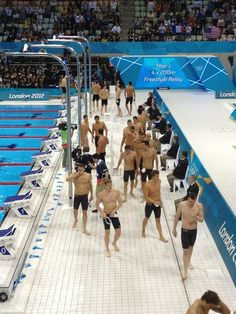 Olympic Swimmers I just forgot how to swim.