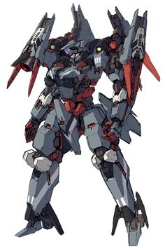 This is the thariss a advanced mec it has one plasma sword and 2 300ml canons