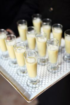 Shannon Leahy Events - San Francisco Wedding - James Leary Flood Mansion - Appetizers