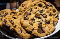 warm chocolate chip cookies via zoes kitchen - Zoes Kitchen Okc