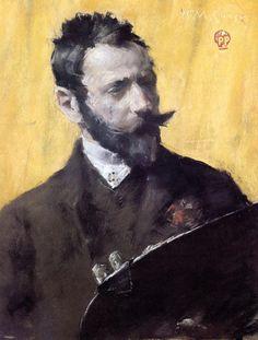 Self Portrait : Wassily Kandinsky : Museum Art Images : Museuma