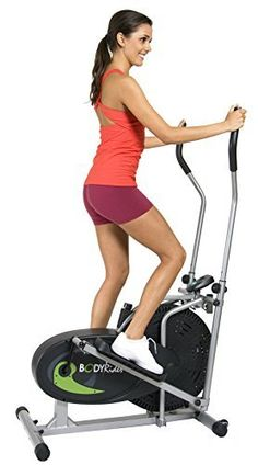 "This patented elliptical rider allows users to perform upper and lower body workouts with ""zero"" impact. The fan wheel runs quietly & smoothly. You may choose your desired work"