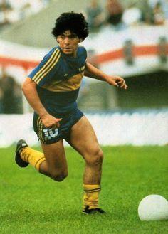 Maradona en el Boca Jrs
