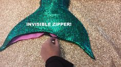 Swimmable/Walkable Mermaid Tail Add by TAILZmermaidGear on Etsy
