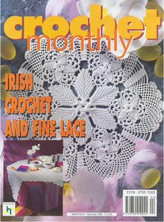 Crochet Monthly Magazine : crochet monthly more magic crochet decorative crochet magazine crochet ...