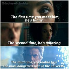 Doctor Who Season 10. The Doctor and Bill Potts.