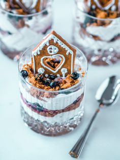 Piparkakkutrifle - joulun nopein jälkiruoka Finding Peace, Tiramisu, Cheesecake, Food And Drink, Sweets, Pure Products, Cooking, Ethnic Recipes, Desserts