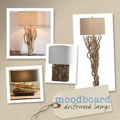 More DIY wooden lamps !