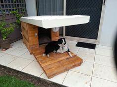 #DogHouse, #Garden, #RepurposedPallet