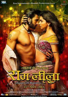 Ranveer Singh & Deepika Padukone Hot Poster Of Ram Leela ~ Hottest News 99