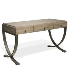 Sophie Writing Desk by Riverside Furniture at Colder's Furniture and Appliance Riverside Furniture, Beach Furniture, Home Office Furniture, Desk With Keyboard Tray, Dining Room Server, Desk Styling, Trestle Dining Tables, Chair Side Table, Leather Furniture