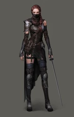 ArtStation - Assassin, Siwoo Kim