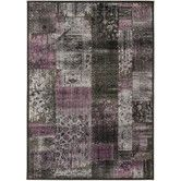 Found it at Wayfair - Paradise Charcoal Floral Area Rug -- I like this one
