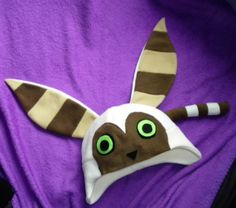 Momo Hat - Avatar: The Last Airbender. $35.00, via Etsy.