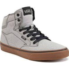 Vans Winston Men's High-Top Skate Shoes, Size: 10 MED, Dark Grey