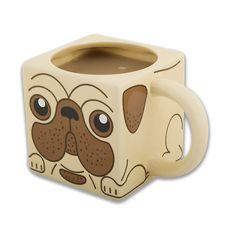 Pug mug i want!!