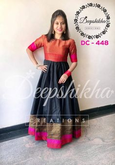 Hi friend good morning have a nice day Saree Gown, Sari Dress, Anarkali Dress, Lehenga, Saree Blouse, Dress Skirt, Long Gown Dress, Long Frock, Kalamkari Dresses